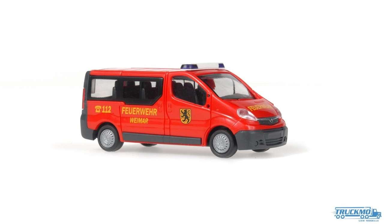 Rietze Feuerwehr Weimar Opel Vivaro 51306