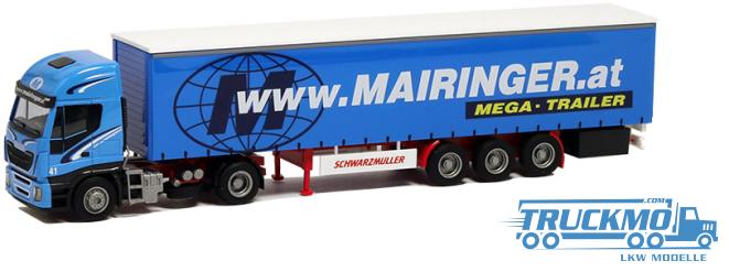 AWM Mairinger Iveco HiWay Giga-Planen-Sattelzug 75406
