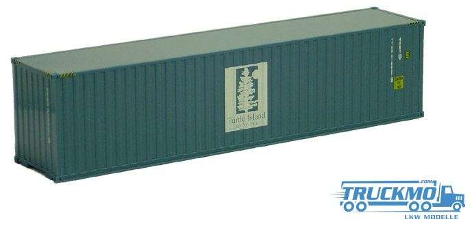 AWM Turtle Island 40ft. HighCube Container 491602