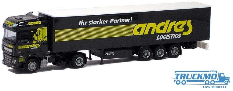 AWM Andres DAF XF 106 Super Space Cab Planenauflieger 75302