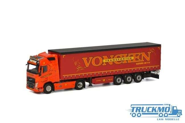 WSI Voncken Transport Volvo FH04 Globetrotter XL Planenauflieger 01-1983