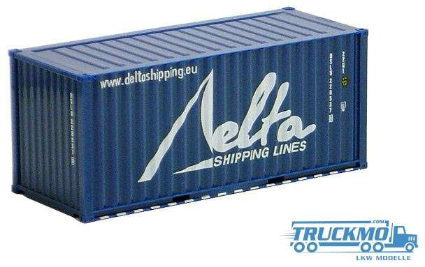 AWM Delta Shipping 20ft. Container gerippt 491332