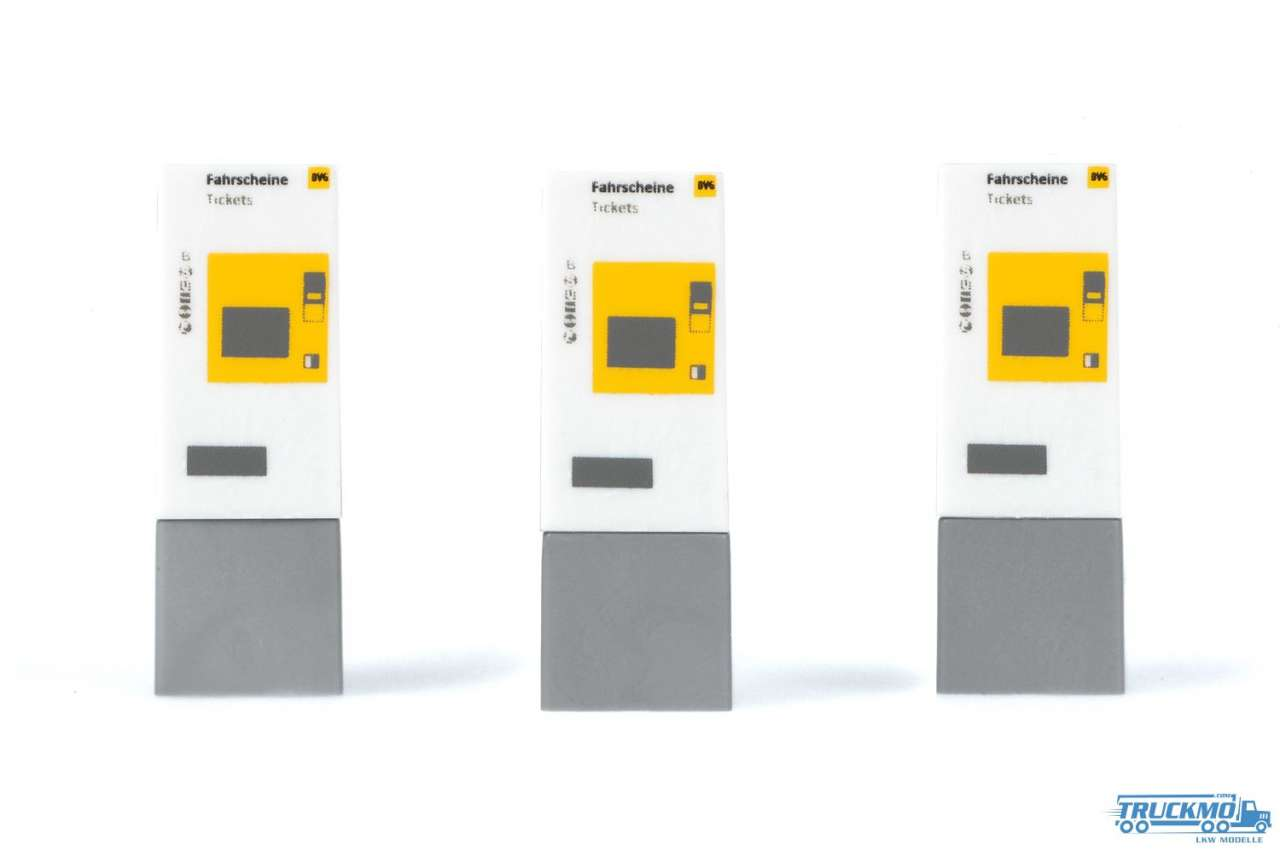 Rietze Fahrkartenautomat BVG 70245