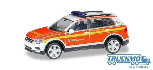 Herpa Freiwillige Feuerwehr Norderstedt VW Tiguan Kommandofahrzeug 094443