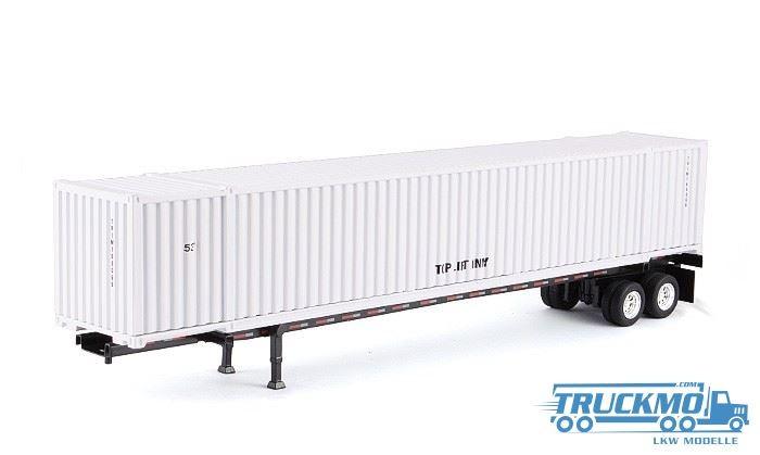 Tonkin 53' Container + Trailer White