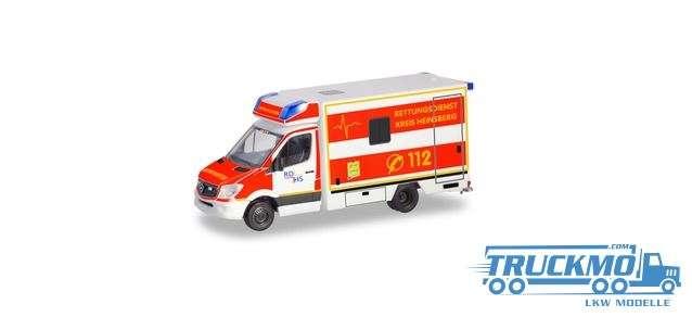 Herpa Rettungsdienst Kreis Heinsberg Mercedes-Benz Sprinter `13 Fahrtec RTW 094962