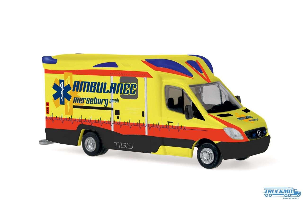 Rietze Ambulance Merseburg Mercedes Benz Ambulanz Mobile Tigis Ergo 68625