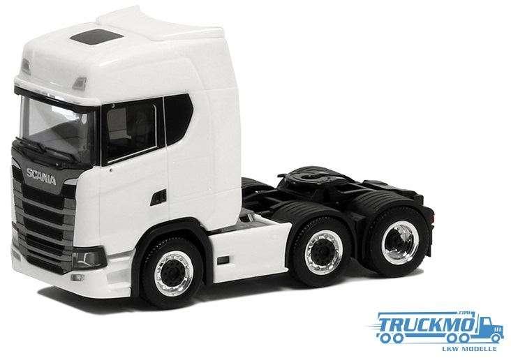 Herpa Scania CS HD 3-Achs weiß 580436
