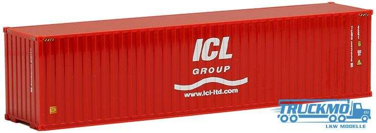 AWM ICL Group, 40ft. HighCube Container 491716