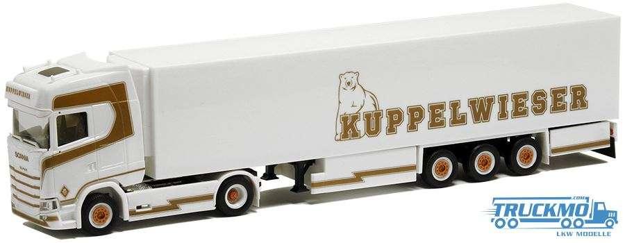 Herpa Kuppelwieser Scania CS 20 HD Kühlkoffer Sattelzug 938969