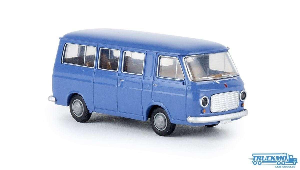 Brekina Fiat 238 Bus fernblau 34412