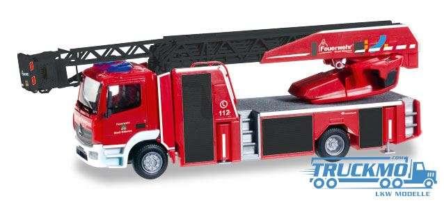 Herpa Feuerwehr Nittenau Mercedes-Benz Atego Drehleiter 093248