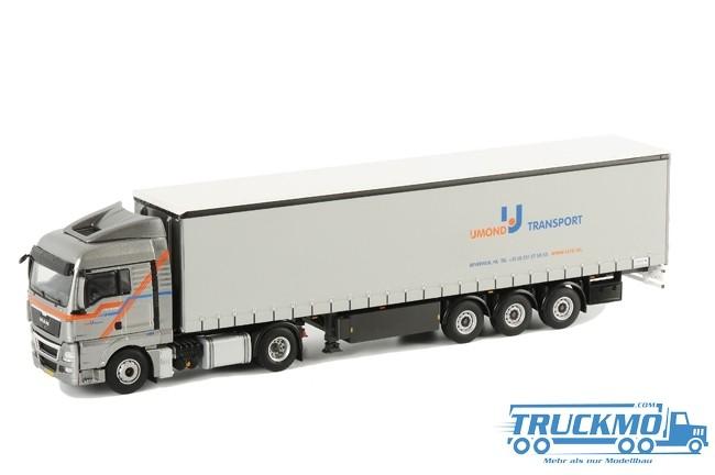 WSI IJmond Transport MAN TGX XLX Planenauflieger