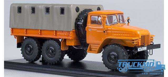 Start Scale Models URAL-375D flatbed with tent 83SSM1104