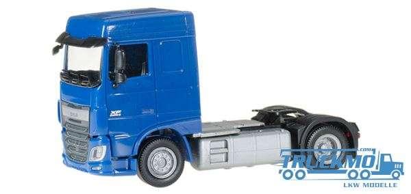 Herpa DAF XF Euro 6 SC blau 610357