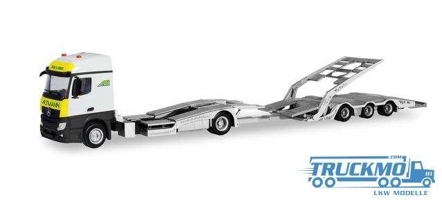 Herpa ARS Mercedes-Benz Actros Streamspace LKW-Transporter-Hängerzug 311083
