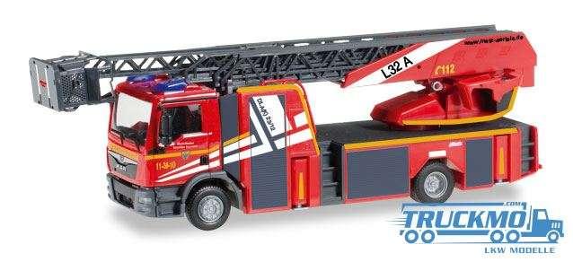 Herpa Feuerwehr Goslar MAN TGM Metz Drehleiter XS 092685