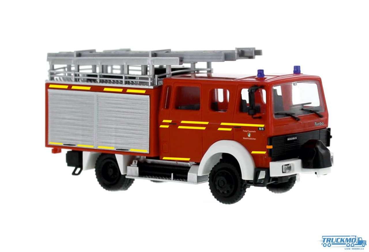 Rietze Feuerwehr Holzkirchen Magirus Lentner LF 16-TS 71212