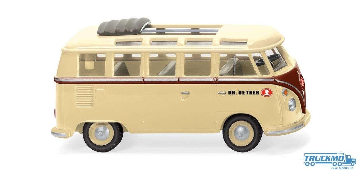 Wiking Dr. Oetker Volkswagen T1 Sambabus elfenbeinbeige 079723
