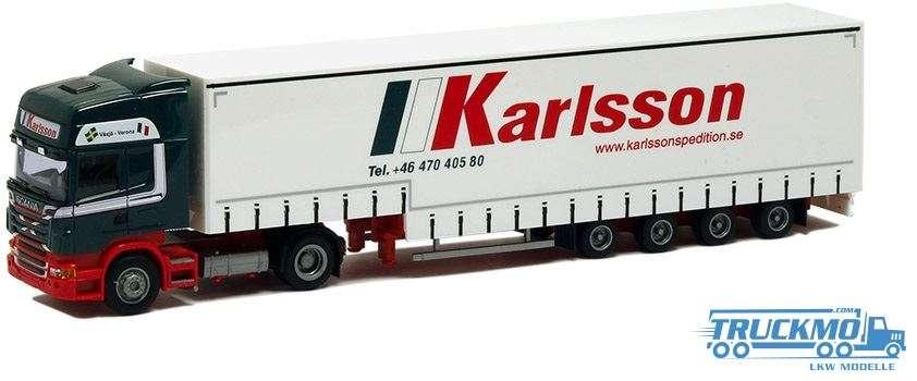 AWM Karlsson Scania R09 Topline Jumbo-Planenauflieger 8492.86