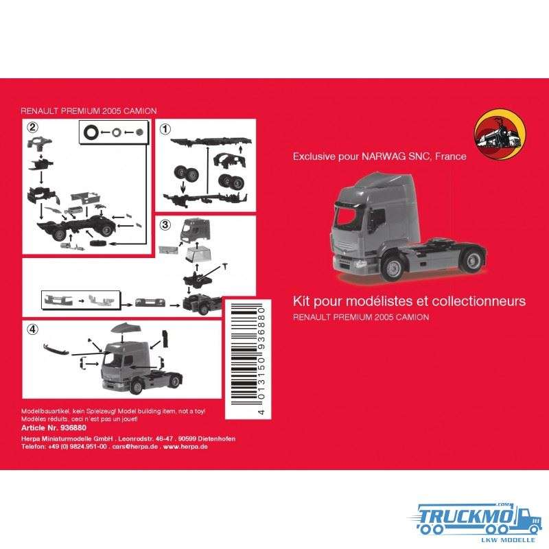 Herpa MiniKit Renault Prmium 06 936880