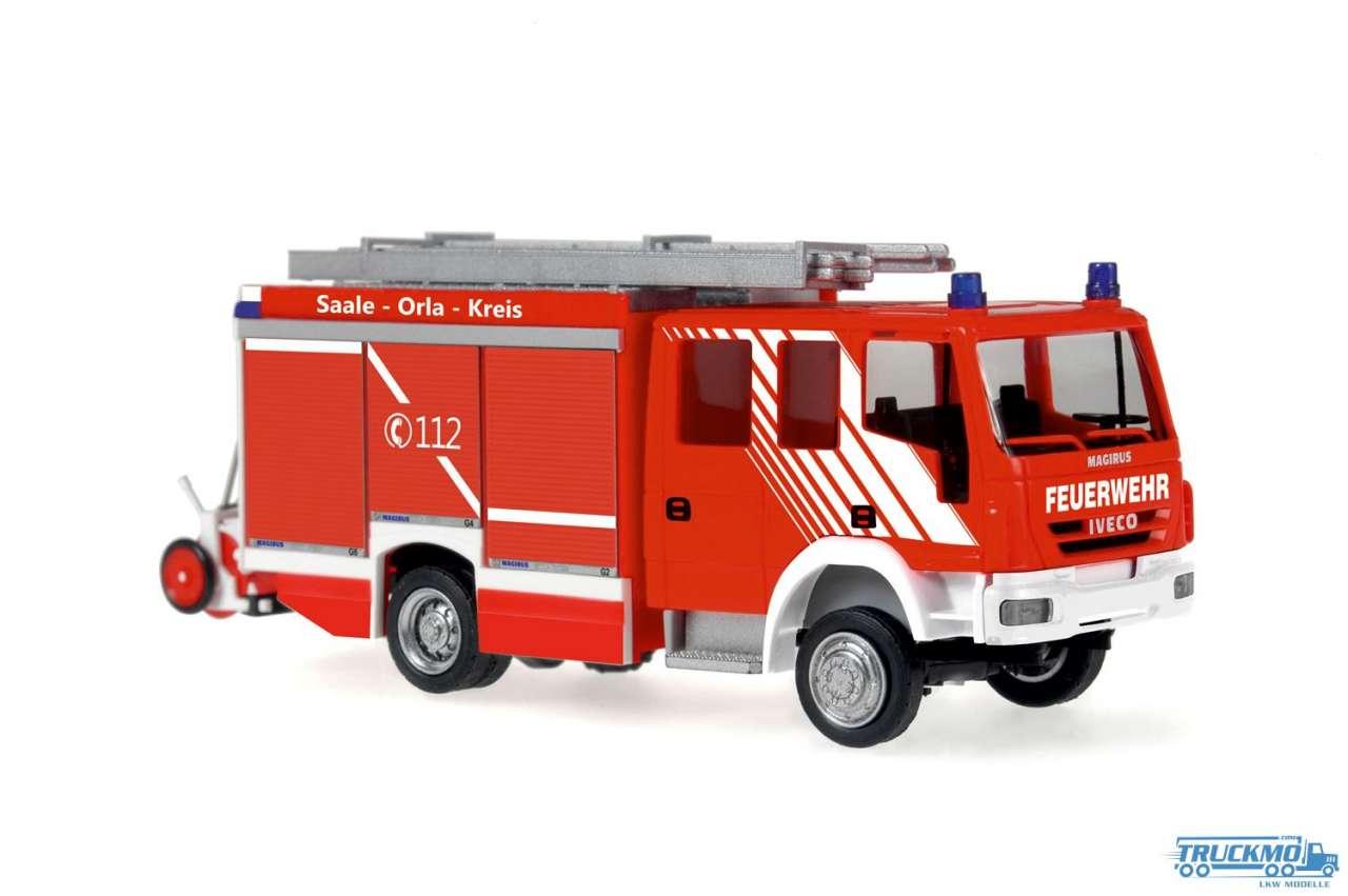 Rietze Feuerwehr Bad Lobenstein Iveco Magirus Alufire 3 HLF 20 61244