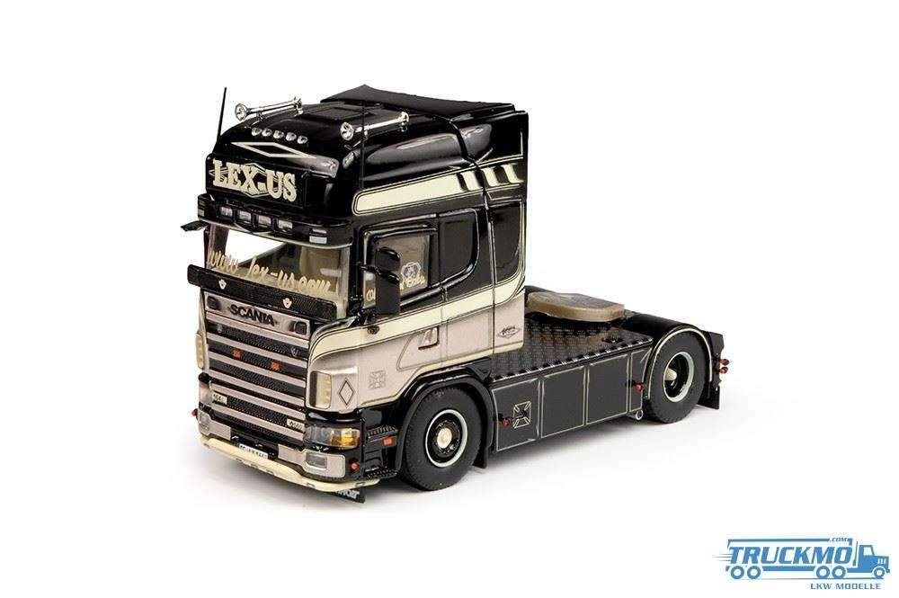 Tekno Lex-us LKW Modell Scania 4-serie Topline 69253