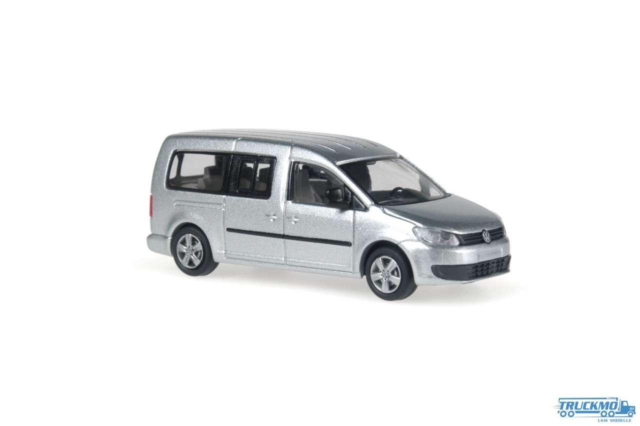 Rietze Volkswagen VW Caddy Maxi Bus 2011 metallic 21860