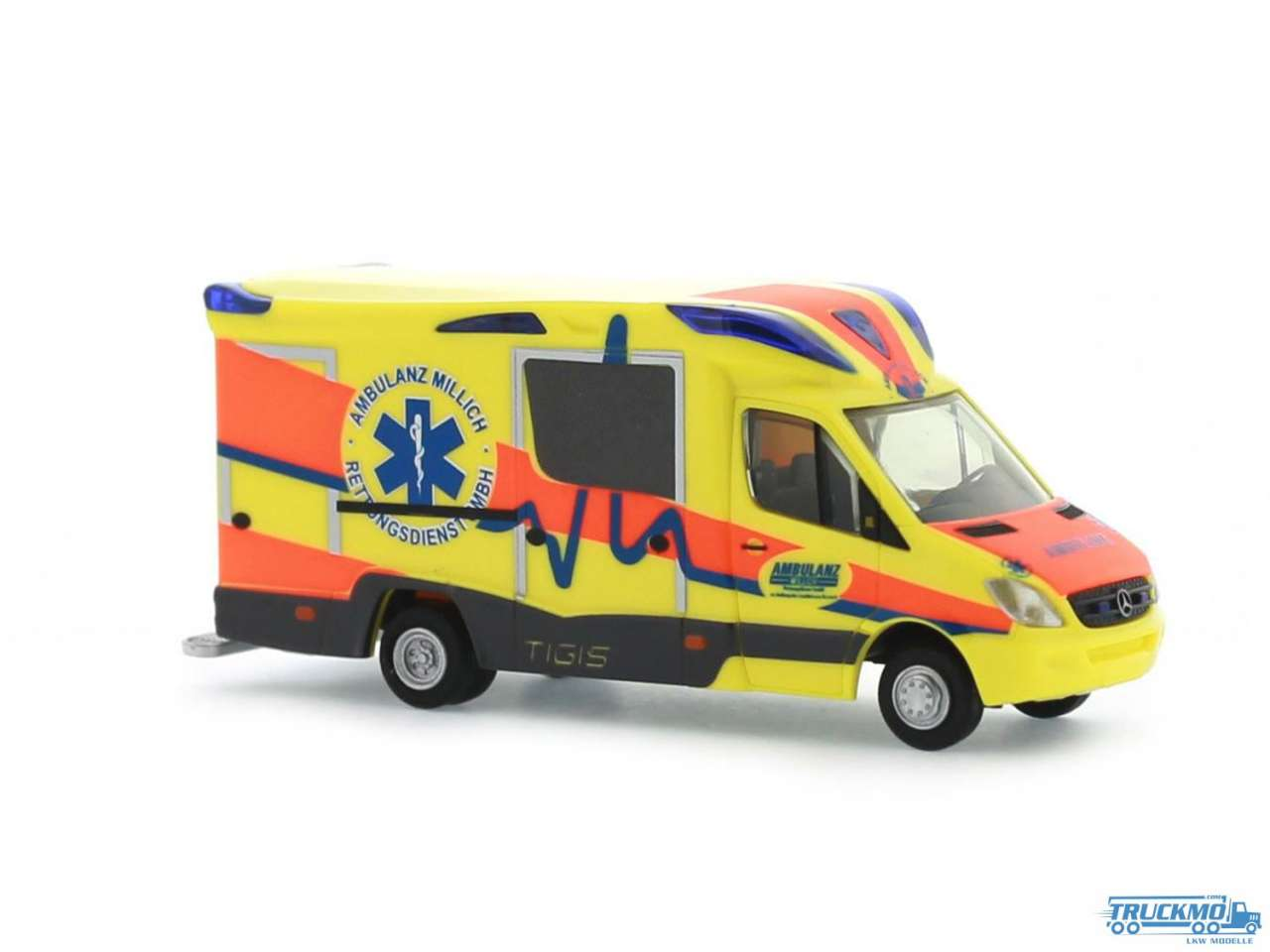 Rietze Ambulanz Millich Mercedes Benz Ambulanz Mobile Tigis Ergo 68622