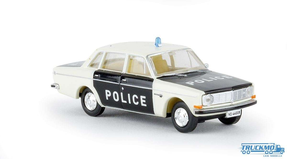 Brekina Police Waadt/Vaud Volvo 144 29419