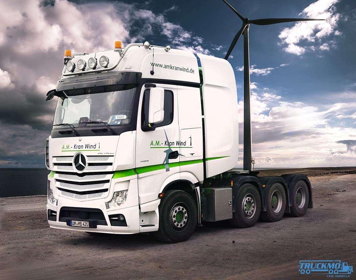 IMC Models A.M. Kran Wind Mercedes Benz Actros GigaSpace 33-0115