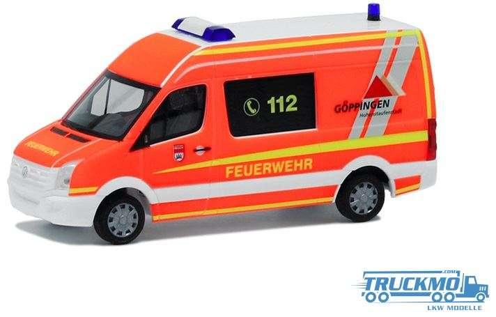 Herpa Feuerwehr Göppingen VW Crafter MTW 929288