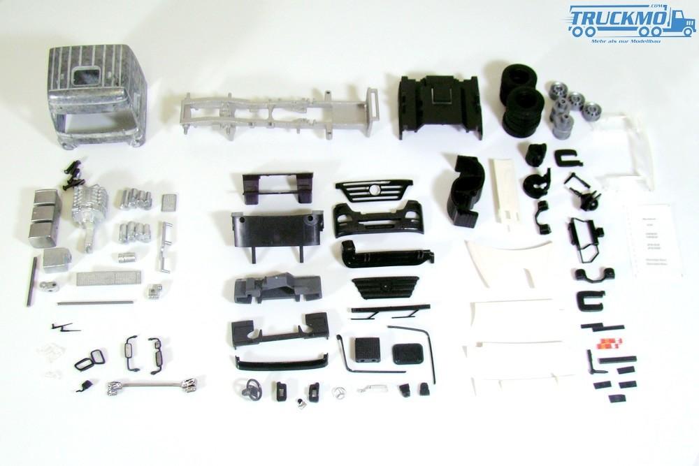 Tekno Bausatz Mercedes Benz Actros LH Megaspace 4x2