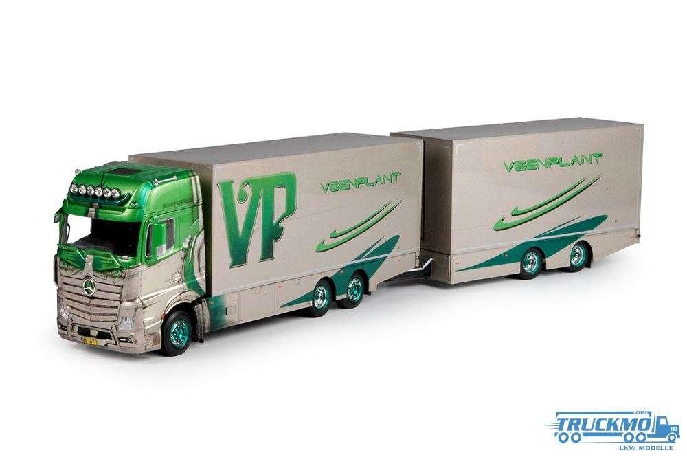 Tekno Veenplant Mercedes Benz Actros Gigaspace Motorwagen mit Anhänger 70162