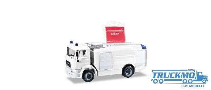 Herpa MiniKit MAN M 2000 EVO Tanklöschfahrzeug weiß 013567