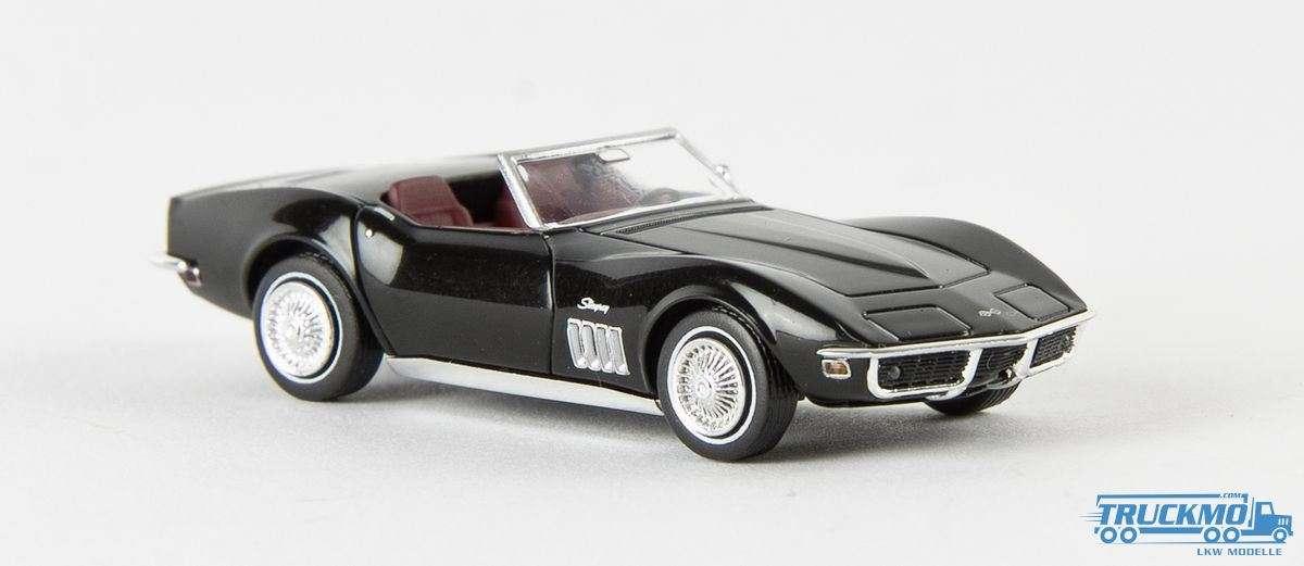 Brekina Corvette C3 Cabrio schwarz 19970