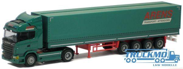 """AWM Arens LKW Scania """"09"""" Highl./Aerop.-PrSZ Modell"""