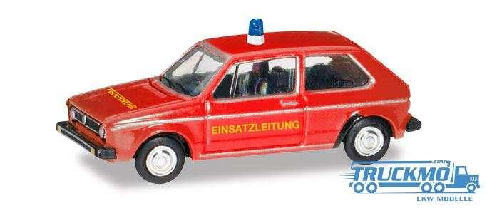 Herpa Feuerwehr VW Golf 1 066754 1:120