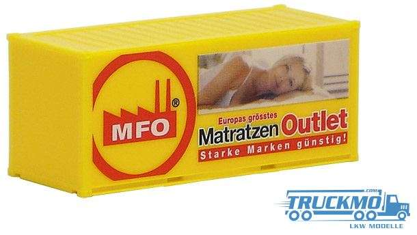 AWM MFO Matratzen Outlet 20ft. Container 491397