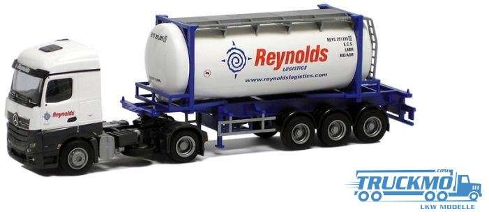 AWM Reynolds Mercedes Benz Actros Streamspace Swapbody-Sattelzug 75098