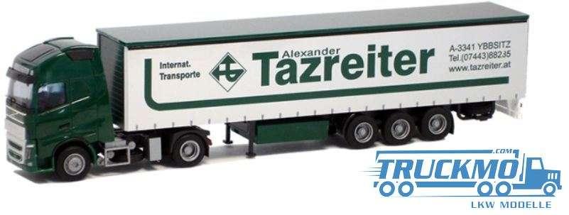 AWM Tazreiter LKW Modell Volvo 12 XL Gardinenplanen Sattelzug 54407