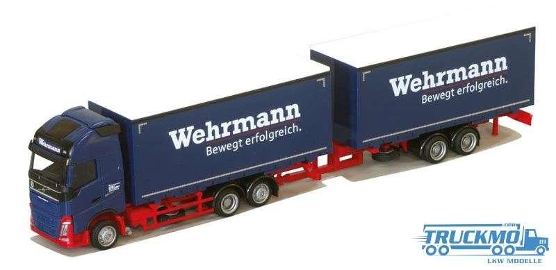 AWM Wehrmann Volvo XL Wechselkofferhängerzug 75281