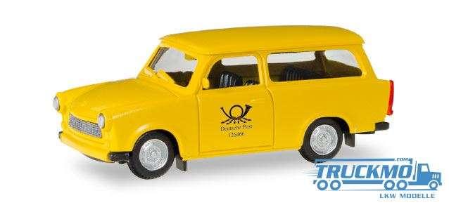 Herpa Deutsche Post Trabant 601 Universal 093095