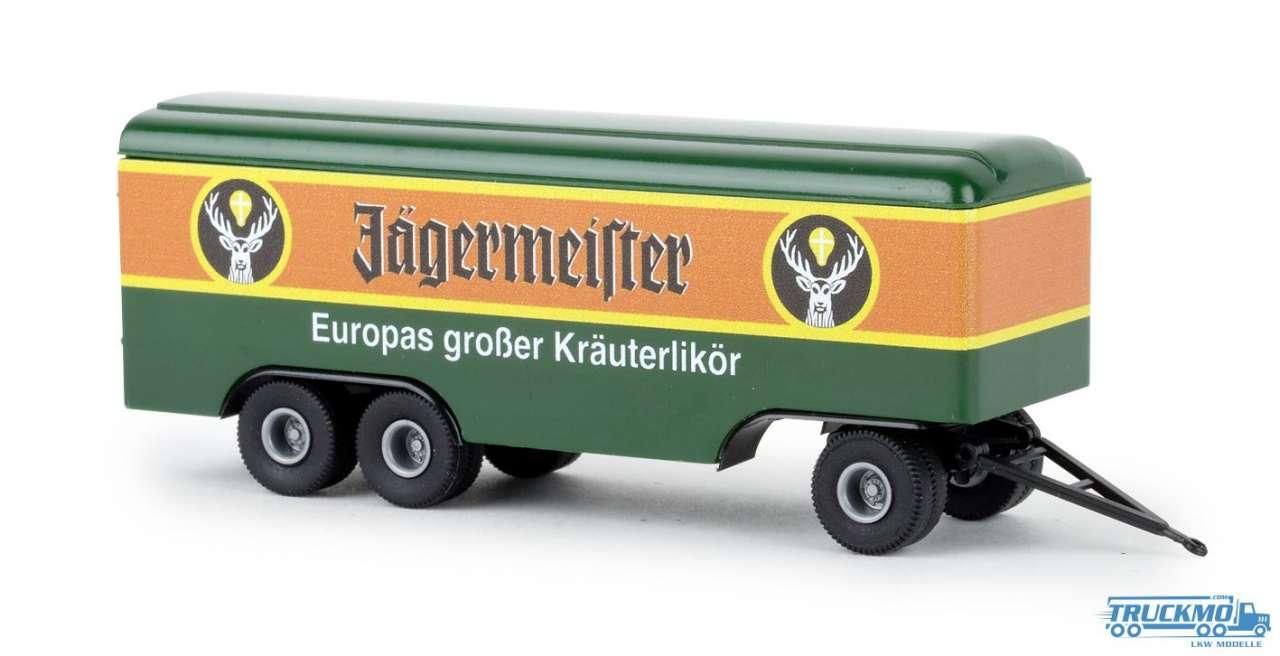 Brekina Jägermeister Kofferanhänger 55293