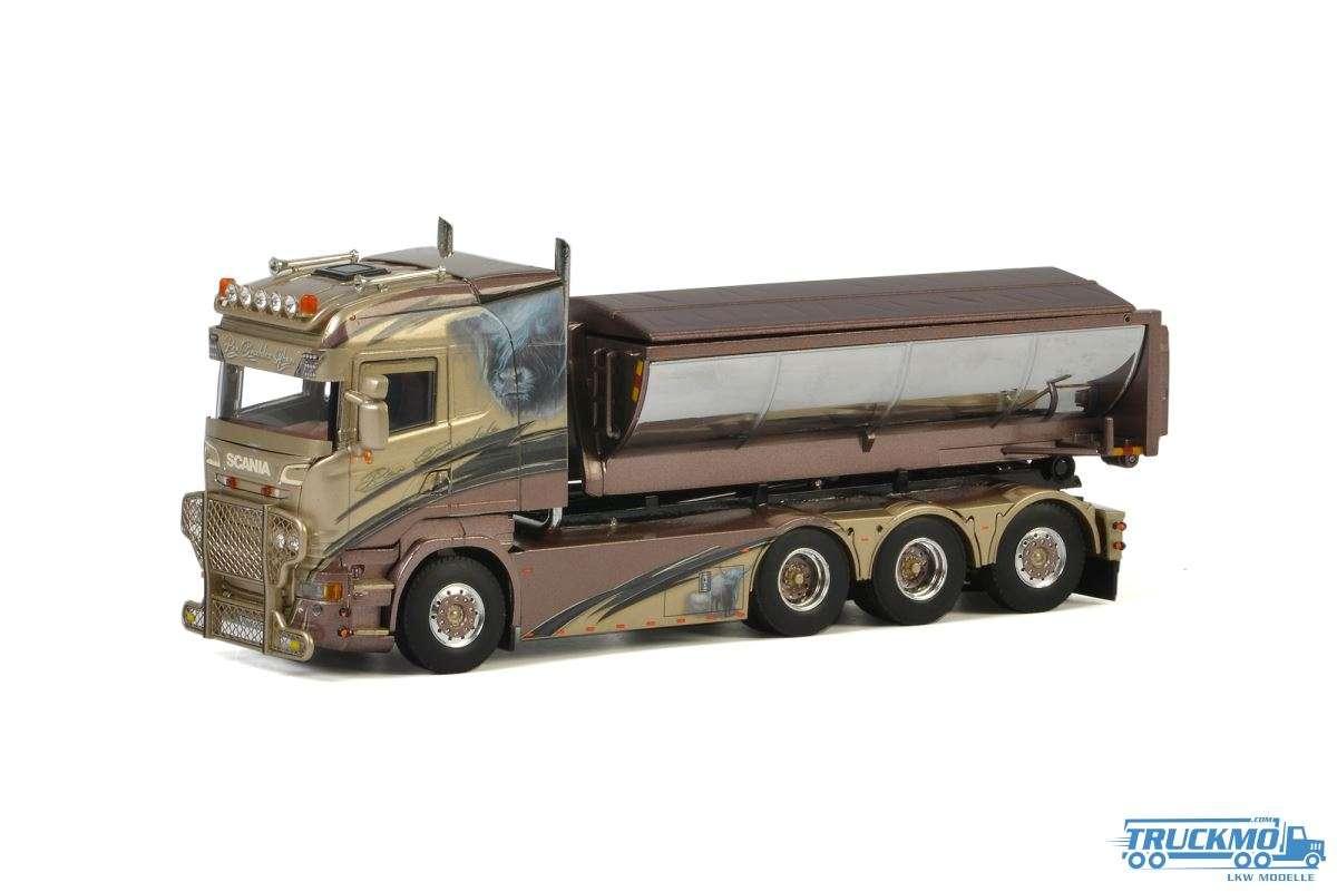 WSI Per Broddes Akeri AB Scania Streamline Highline Hakenlift System Aspahlt Container 01-2447