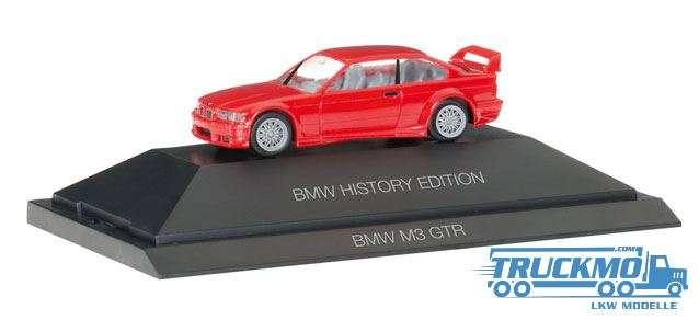 "Herpa BMW M3 GTR ""BMW History Edition"" 102056"