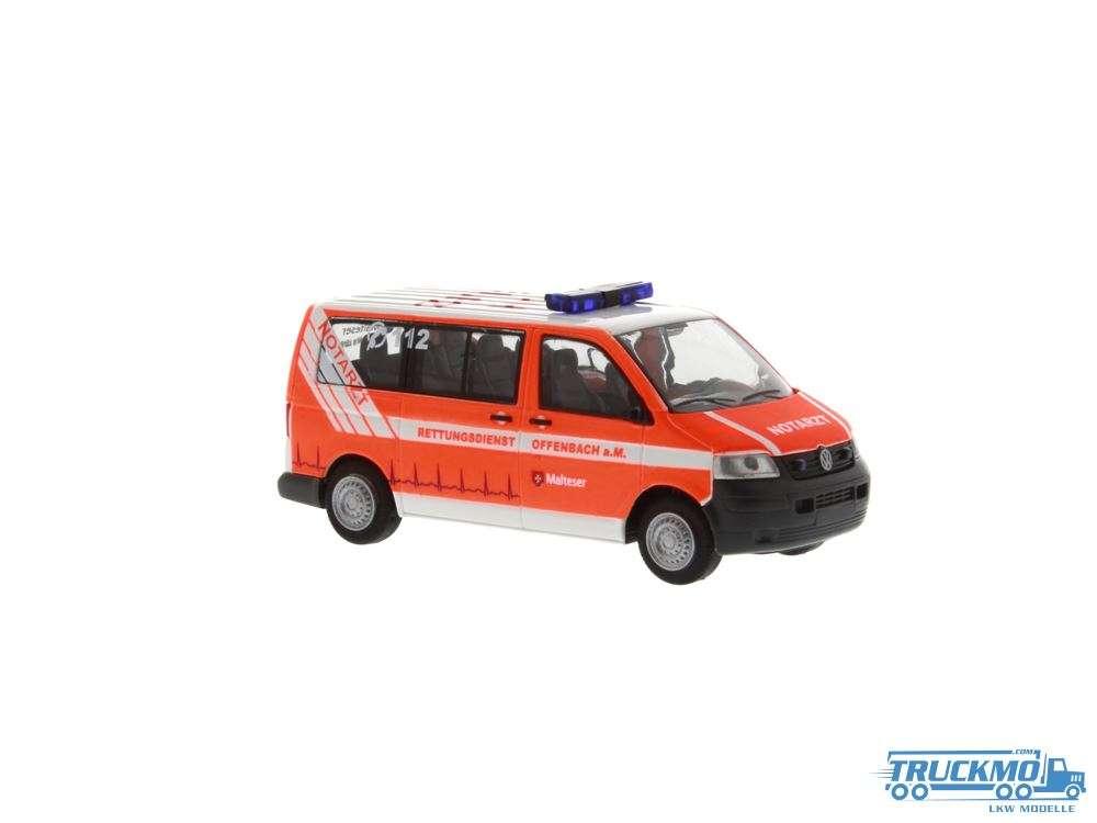 Rietze Malteser Offenbach Volkswagen T5 Notarzt 51894