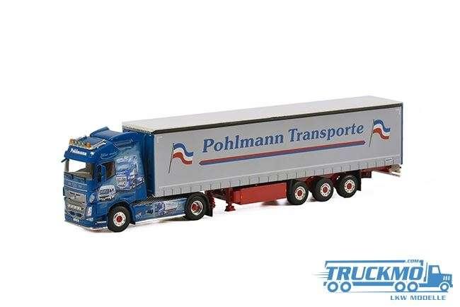 WSI Pohlmann Volvo FH04 Globetrotter Planenauflieger 01-2002