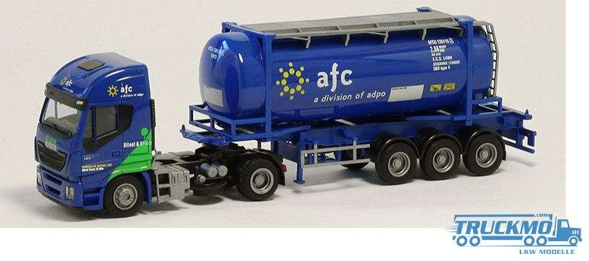 AWM A F C Iveco Stralis HiWay 20ft. Tank-Container 75413