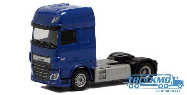 Herpa DAF XF Euro 6 SSC blau 610359
